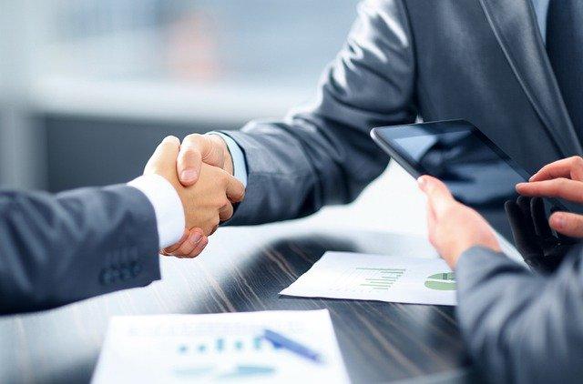 Coronavirus Small Business Loan Program business handshake over the table